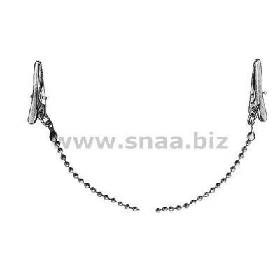Napkin Holder with Metal Chain