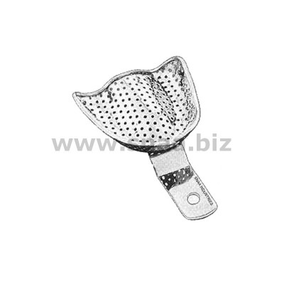 Impression Tray, Perforated, Upper, L