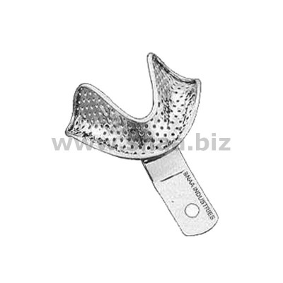 Impression Tray, Perforated, Lower, S