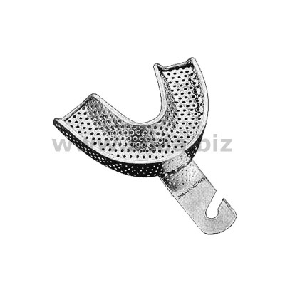 Impression Tray, English Pattern, Perforated, Lower