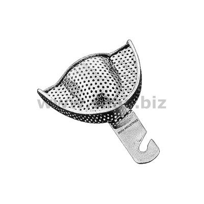 Impression Tray, English Pattern, Perforated, Upper