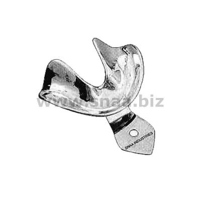 Impression Tray, Solid Full Denture, Lower, XL