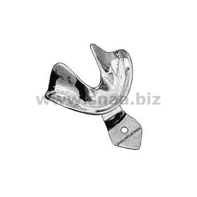 Impression Tray, Solid Full Denture, Lower, M