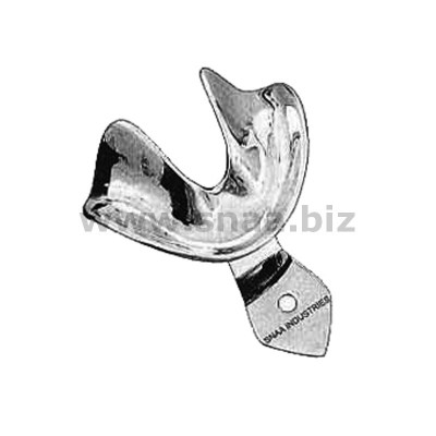 Impression Tray, Solid Full Denture, Lower, S