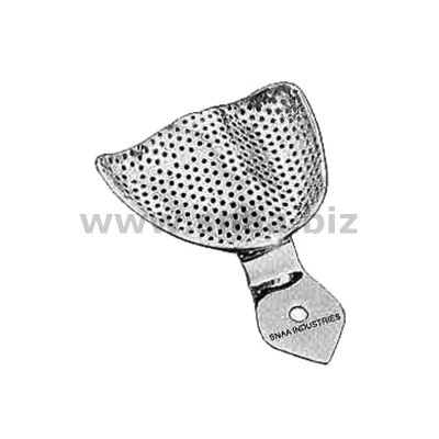 Impression Tray, Perforated Full Denture, Upper, XL