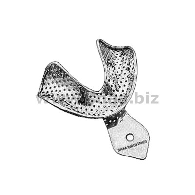 Impression Tray, Perforated Full Denture, Lower, L