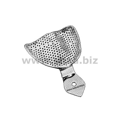 Impression Tray, Perforated Full Denture, Upper, L