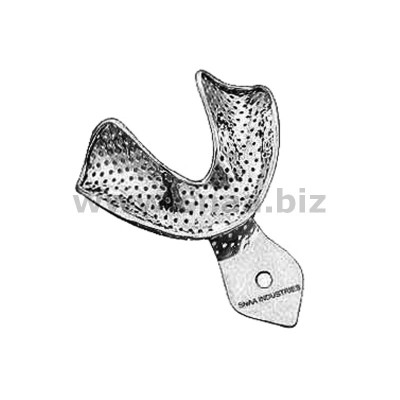 Impression Tray, Perforated Full Denture, Lower, M