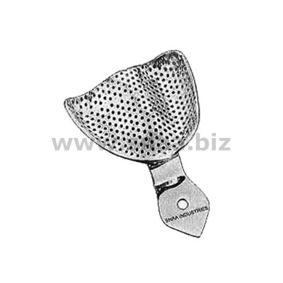 Impression Tray, Perforated Full Denture, Upper, S