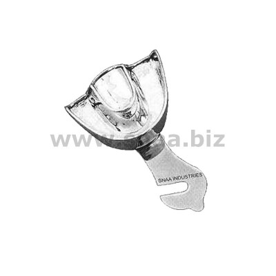 Impression Tray, Solid Full Denture, Upper, U2