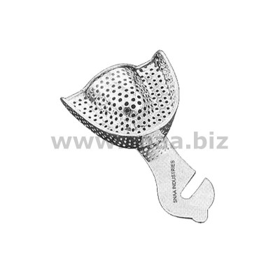 Impression Tray, Perforated Full Denture, Upper, U0