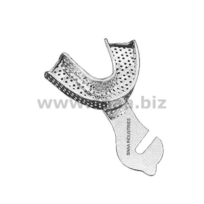 Impression Tray, Perforated Full Denture, Lower, L1