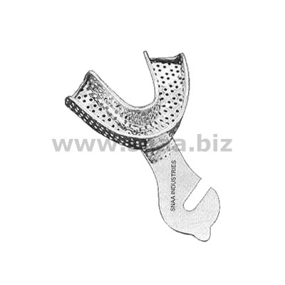 Impression Tray, Perforated Full Denture, Lower, L2