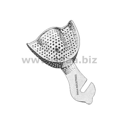 Impression Tray, Perforated Full Denture, Upper, U2