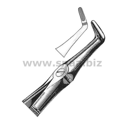 Extracting Forceps English Pattern, Fig. 45