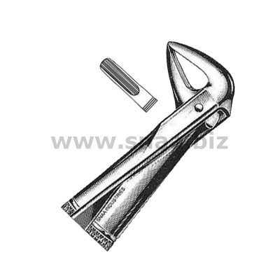 Extracting Forceps English Pattern, Fig. 74