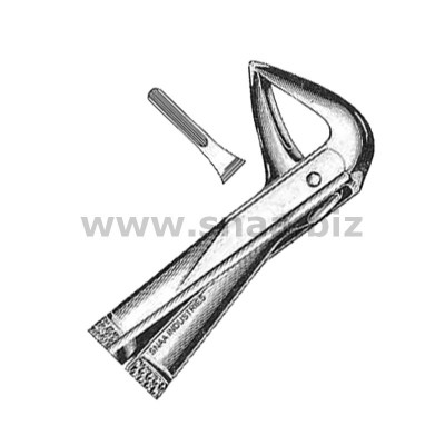 Extracting Forceps English Pattern, Fig. 74 M