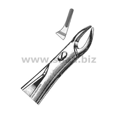 Extracting Forceps English Pattern, Fig. 76 N