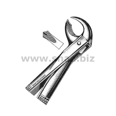 Extracting Forceps English Pattern, Fig. 99