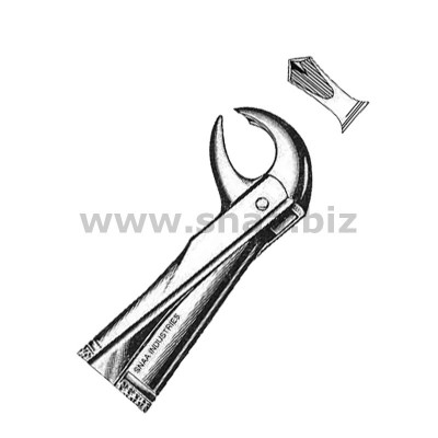 Extracting Forceps English Pattern, Fig. 99 1/4