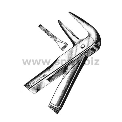 Extracting Forceps English Pattern, Fig. 233