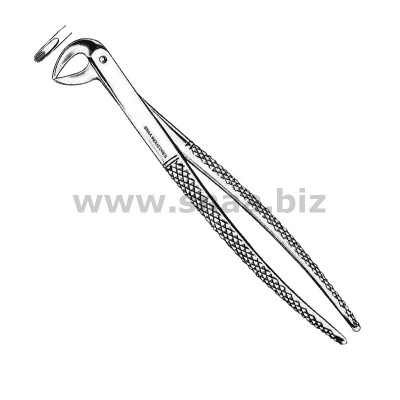 Extracting Forceps Children's Pattern Fig.123