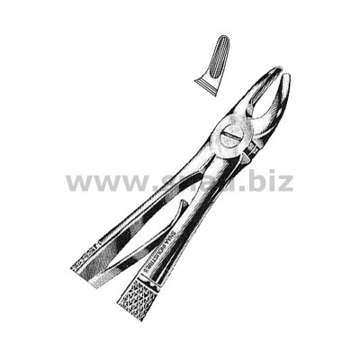 Tooth Extracting Forceps for Children fig.139