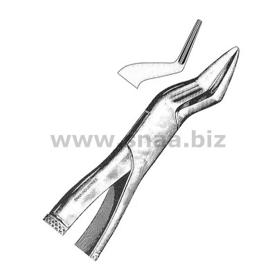 Tooth Extracting Forceps American Pattern fig.65