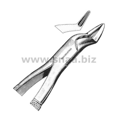 Tooth Extracting Forceps American Pattern fig.286