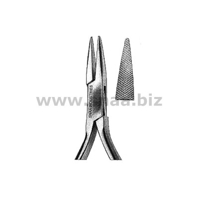 Goslee Orthodontic Pliers, One Serrated Jaws