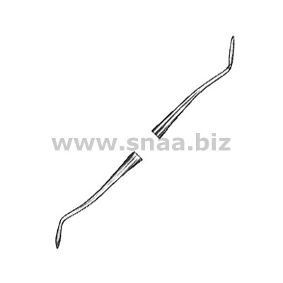 Plastic Filling Instruments Amalgam Hollenback fig.1/2